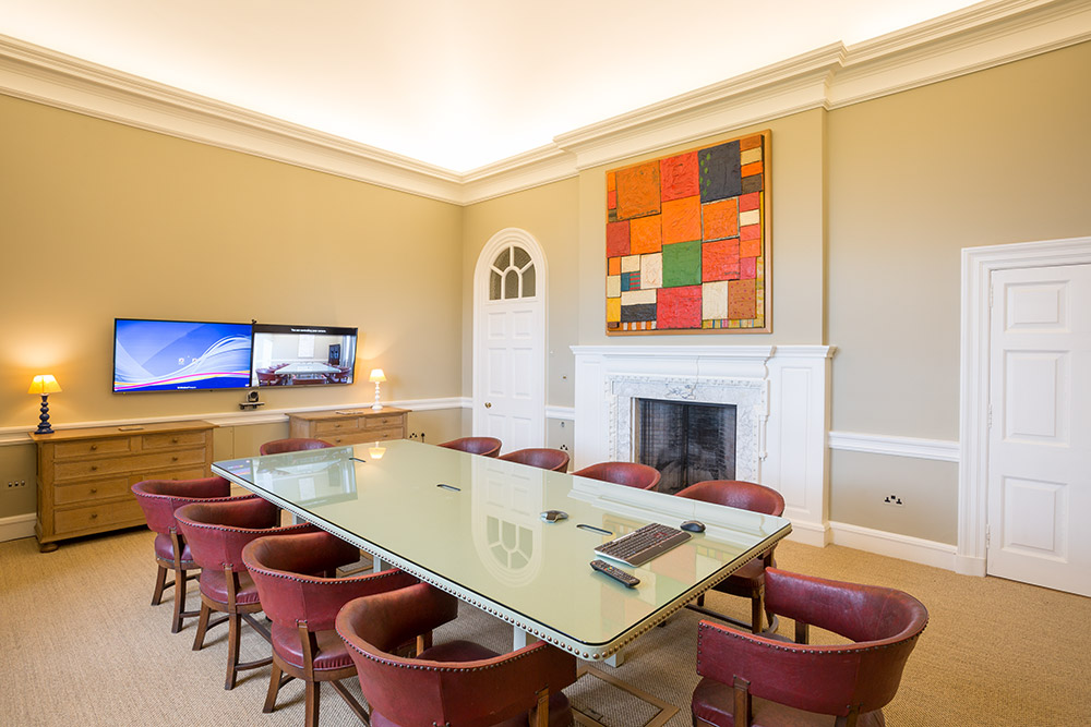 The Meeting Room at Marchmont House, Greenlaw, Berwickshire